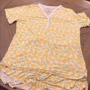 Little Sleepies Bamboo Pajamas XL